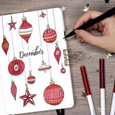 30 idées pour votre monthly cover de décembre - @amandarachlee on instagram