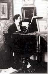 Albéniz ante el piano