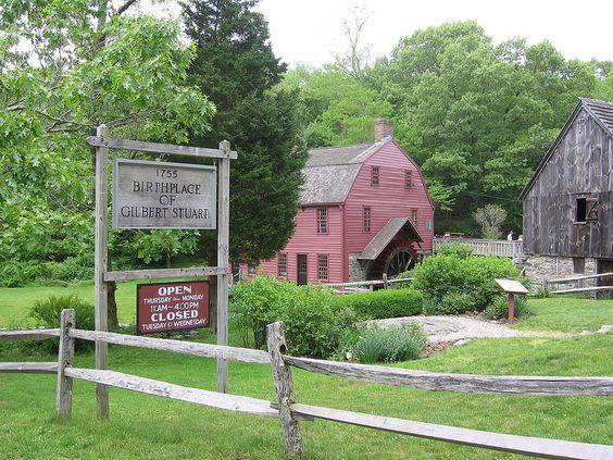 Gilbert Stuart Birthplace