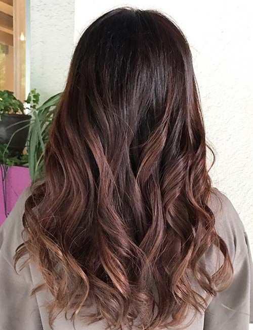 Highlight Ideas For Dark Brown Hair