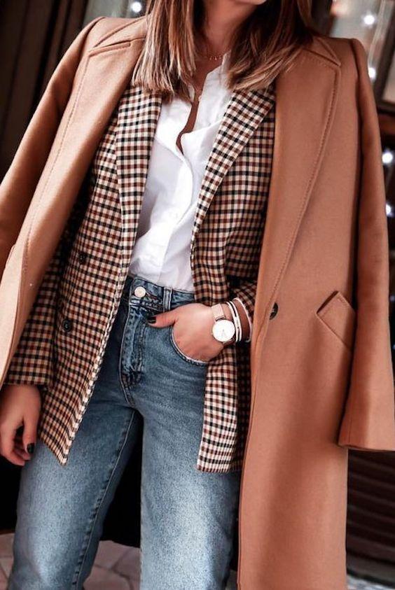16 ideas elegantes y fáciles para el otoño - #Chic #Easy #fall #Ideas #outfit #street  #chic #Easy #el #elegantes