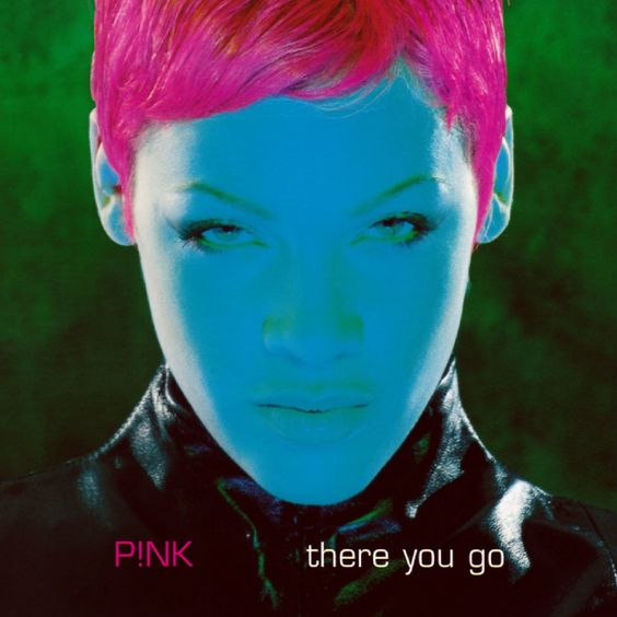 Pink – There You Go (single cover art)