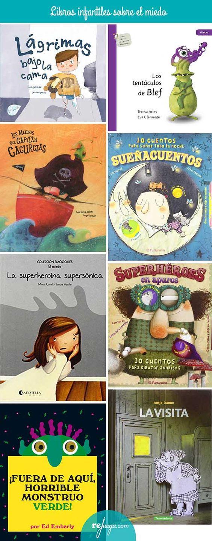 Libros para niños sobre enfados