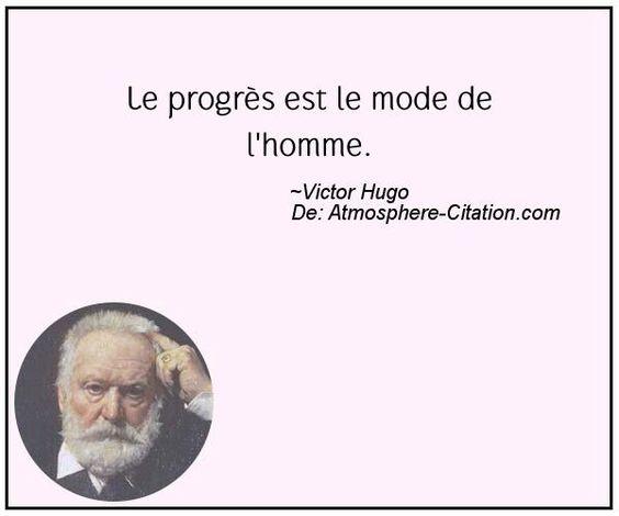Le progrès est le mode de l'homme.  Trouvez encore plus de citations et de dictons sur: http://www.atmosphere-citation.com/populaires/le-progres-est-le-mode-de-lhomme.html?