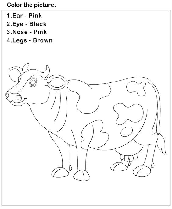 Science worksheets preschool worksheets body parts for Science coloring pages for preschoolers