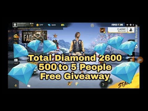 Free Fire Diamonds Giveaway Open Entry Prizes Win 2019