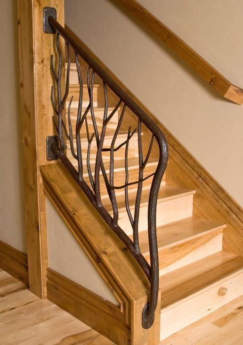 Railings And Handrail Custom Designed And Forged Of Steel Bronze Copper Staircase Railing Design Railing Design Staircase Railings