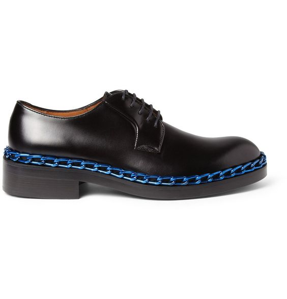 Raf Simons Chain Trimmed Derby Shoes 3