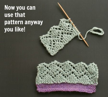 Free Knitting Patterns For Borders : Lace edges as knitted on borders By a Roving Crafter Pinterest Lace and...