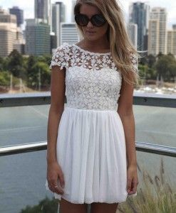 Hot-sale-women-white-pink-green-color-patchwork-chiffon-lace-sexy-backless-dress-flowers-hollow-out
