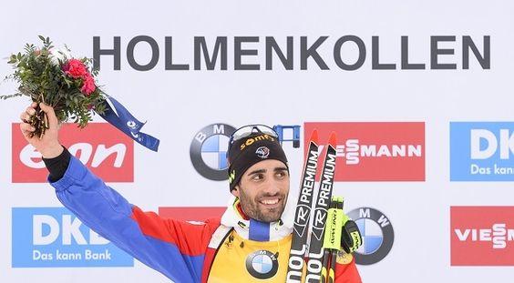 Mondiaux de biathlon: Martin Fourcade sacré champion du monde de sprint