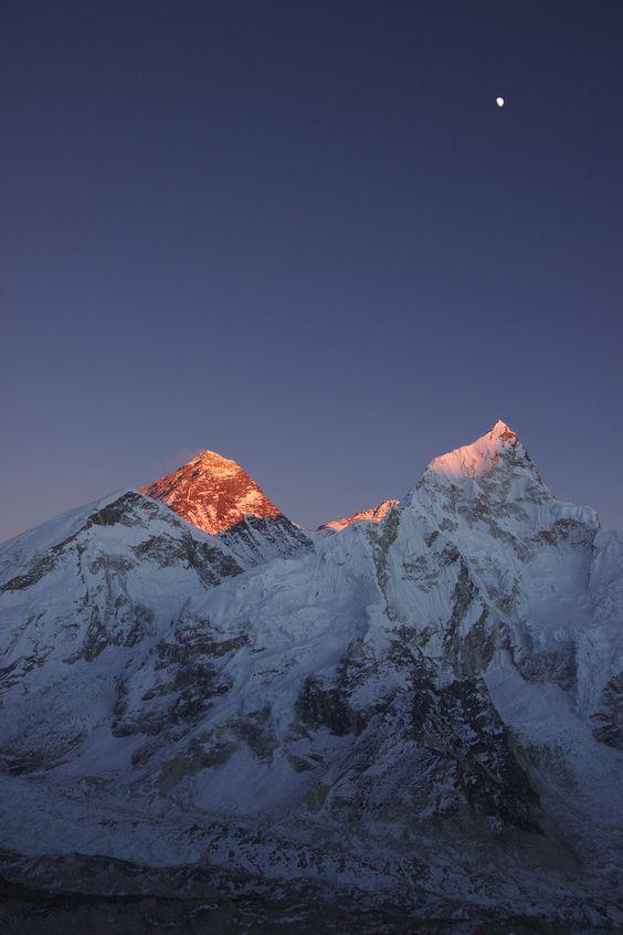 Mt. Everest#travel [ ChameleonTravelGear.com ]