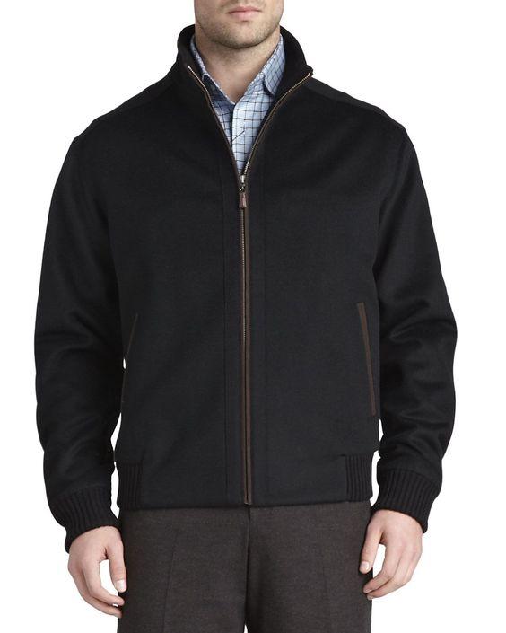 Patrick Wool Coat, Black