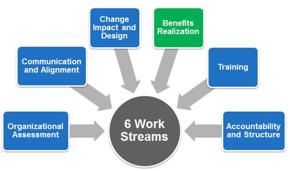 6 Work Streams OCM