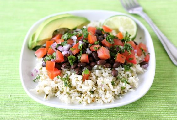 Easy Mexican Rice Bowl