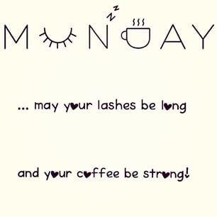 Monday mornings Mascara quote, Younique, 3D Fiber Lash