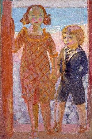 ¤ Maurice Denis : La Cabine de bain, 1915, huile sur toile, 92,5 x 61 cm - Collection particulière © Catalogue raisonné Maurice Denis / ADAGP, Paris 2009