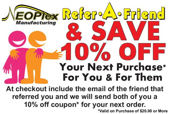 Refer And Save Discount Coupon Referafriend Neoplex