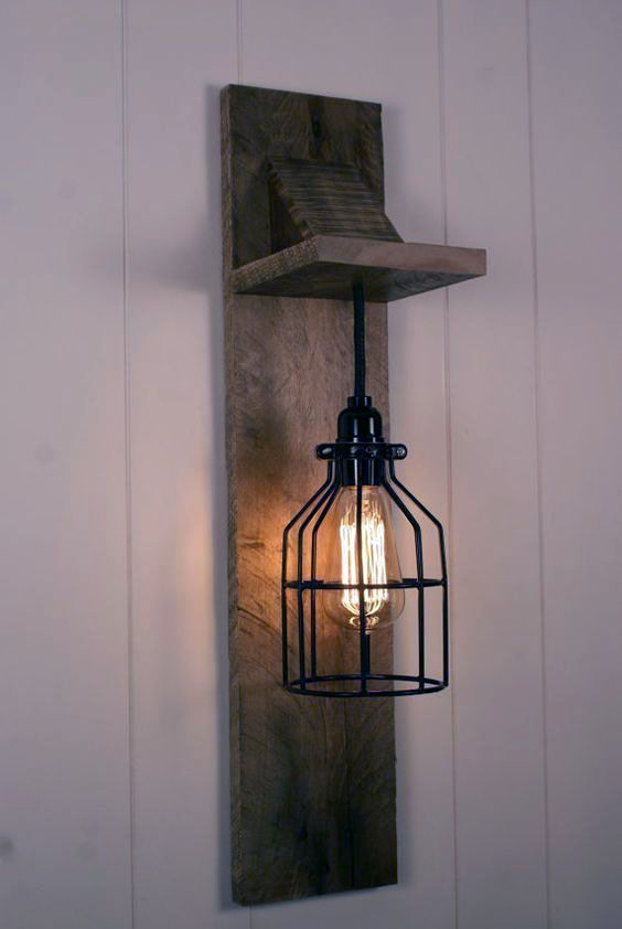 8 Outdoor Lighting Ideas That Will Not Spend A Lot Cage Light Chandelier Industrial Light Fixtures Wall Lamps Bedroom