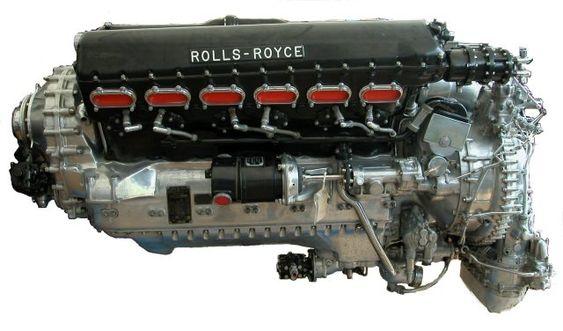 Supermarine Spitfire engine - Rolls Royce Merlin