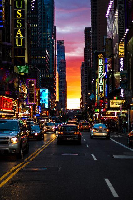 Fim de tarde em New York, EUA. #ny #Viagem: