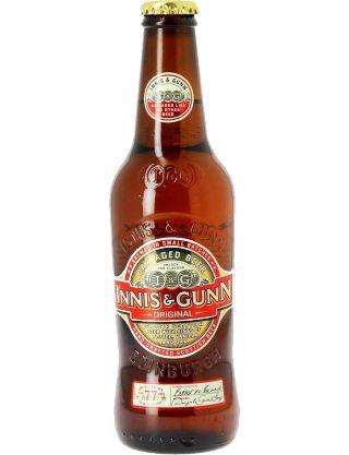 Innis Gunn Original Une bière Ecossaise avec un petit plus: vieillissement en fut de chêne qui lui confère des notes de vanille.