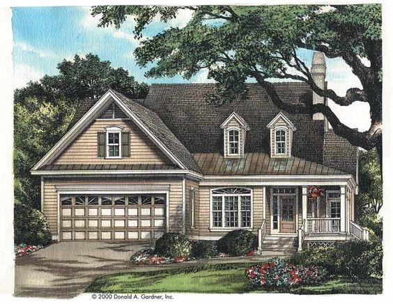 Eplans cottage house plan country charm 1687 square for Eplans house plans