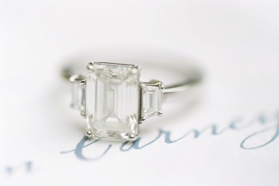 13 Gorgeous 3-Stone Engagement Rings: http://www.stylemepretty.com/collection/2019/