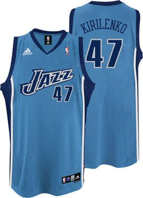 pick up 64278 630f7 utah jazz andrei kirilenko 47 white authentic jersey sale