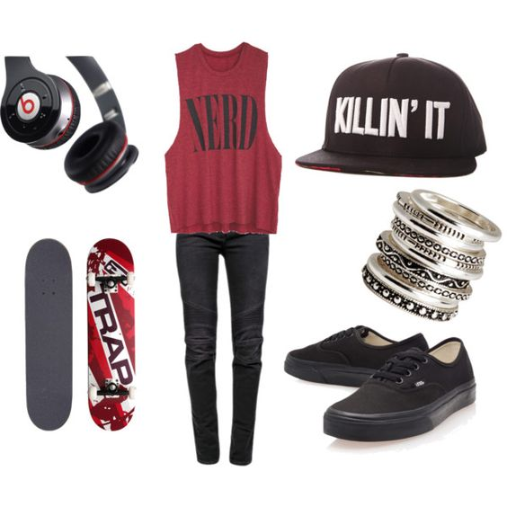 skater girl outfits  google searchand a little pinterest