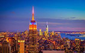 Resultado de imagen para la ciudad de nueva york de noche