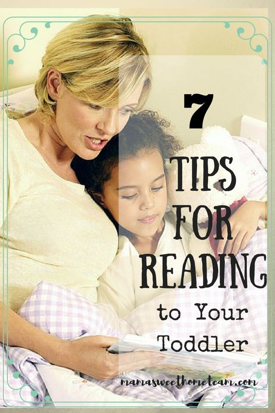 Image result for 7 Tips for Reading to Your Toddler