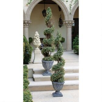 Spiral Topiary Tree Collection: Small $129.00