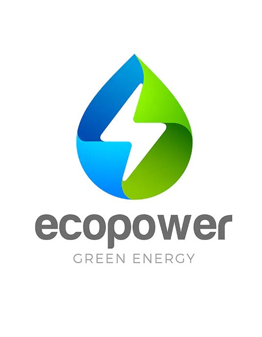 Logo Green Energy Eco Droplet By Sentavio On Envato Elements Energy Logo Green Energy Logo Solar Logo