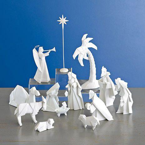 marvelous porcelain nativity set - photo #14