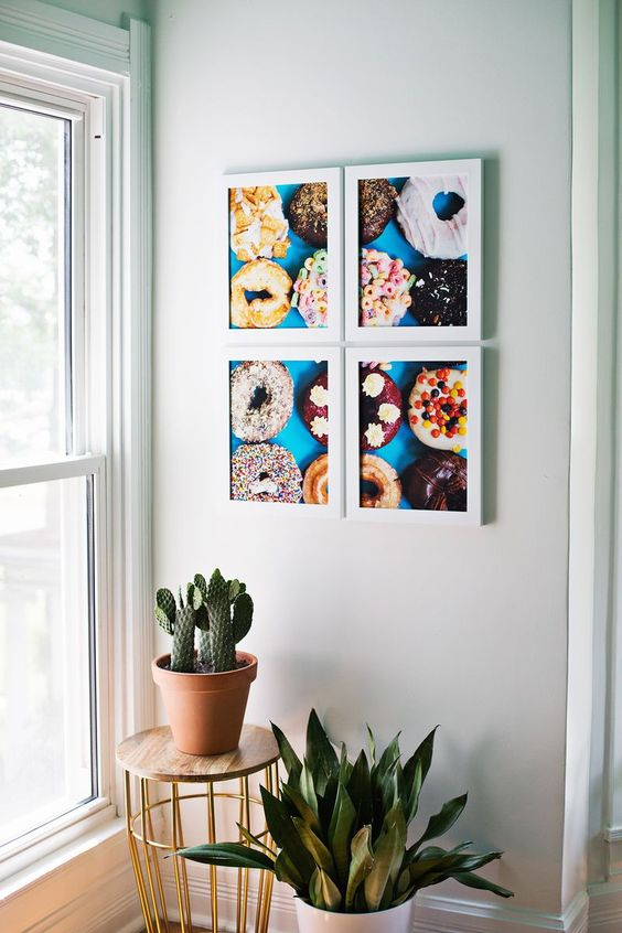 Print giant photo art at home! (click through for tutorial)