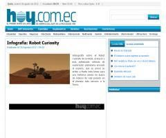Llegada a Marte del robot Curiosity - Didactalia: material educativo