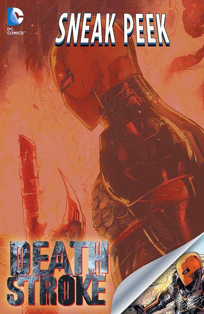 BLIPOMIX previews: DC Sneak Peek: Deathstroke