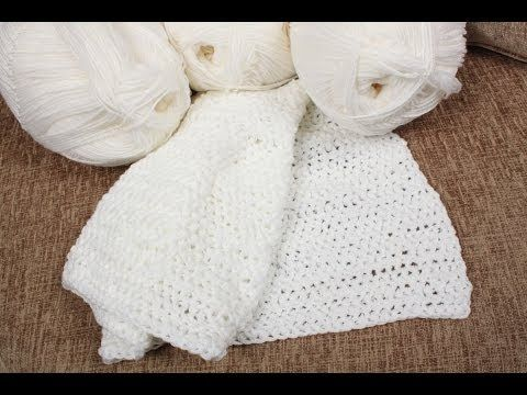 How to finger crochet - crochet with your fingers - YouTube Crochet ...