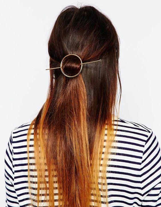 Haarspange mit Stab und weitere Haarspangen auf http://www.zauberhafte-elv.de