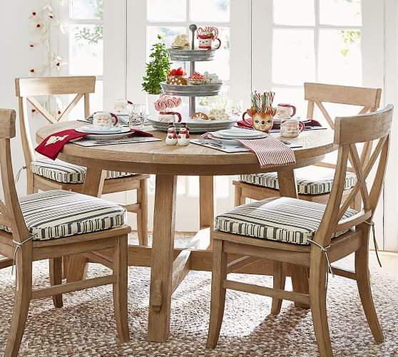 Toscana Round Extending Dining Table Seadrift Dining Table