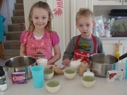 Fun and easy play-dough recipes with video!