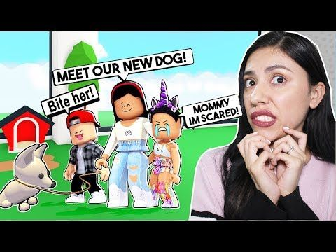 My Daughter Is Scared Of Our New Pet Roblox Adopt Me Pets Update Youtube Roblox Adoption To My Daughter
