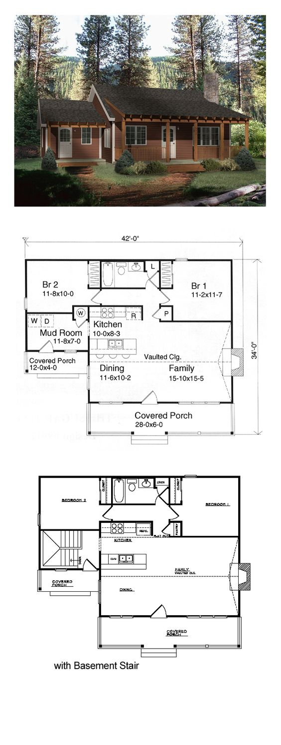 Ranch Style Cool House Plan Id Chp 15960 Total Living