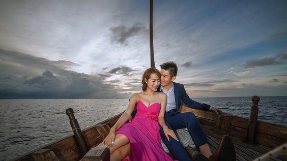 Vic & Jane Pre-wedding Film in Velassaru Maldives