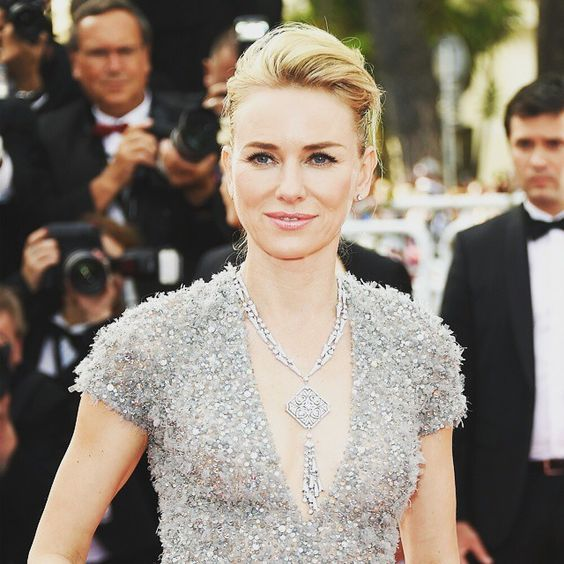 #NaomiWatts at the opening ceremony of the 68th annual Cannes Film Festival. She wears Bulgari High Jewellery - Giardini Italiani collection. @festivaldecannes#Cannes2015