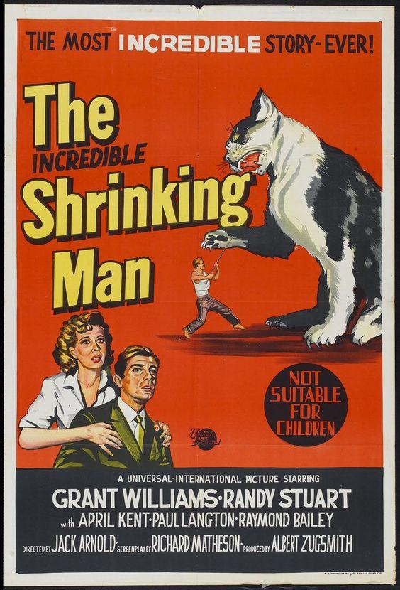 El Increible Hombre Menguante (1957)