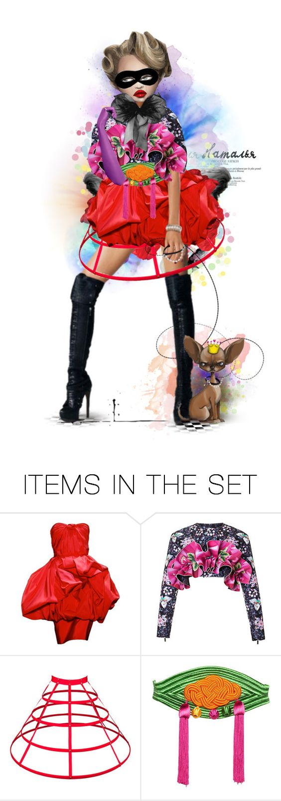 """""""Scapin's World"""" by pynkk ❤ liked on Polyvore featuring art"""