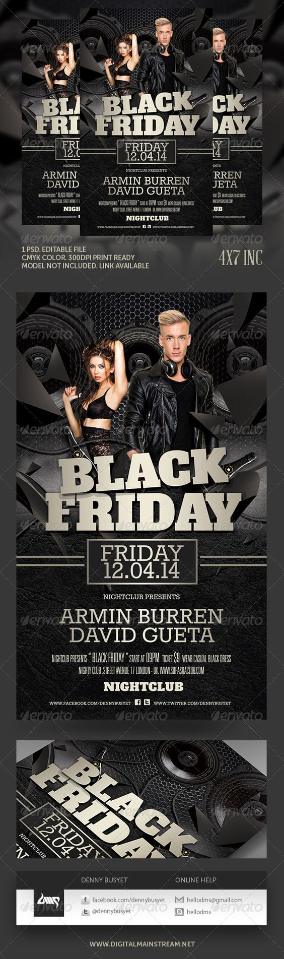 black friday club flyer template black party flyer template and black friday night club flyer template psd file here