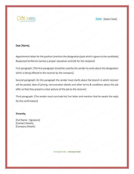 appointment letter formats amp samples for word this sample - minutes of meeting format in word